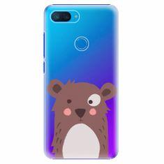 iSaprio Plastový kryt - Brown Bear - Xiaomi Mi 8 Lite
