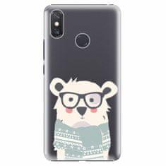 iSaprio Plastový kryt - Bear with Scarf - Xiaomi Mi Max 3