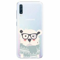 iSaprio Plastový kryt - Bear with Scarf - Samsung Galaxy A50