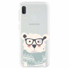 iSaprio Plastový kryt - Bear with Scarf - Samsung Galaxy A20e