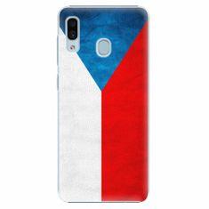 iSaprio Plastový kryt - Czech Flag - Samsung Galaxy A30