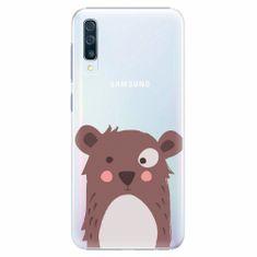iSaprio Plastový kryt - Brown Bear - Samsung Galaxy A50