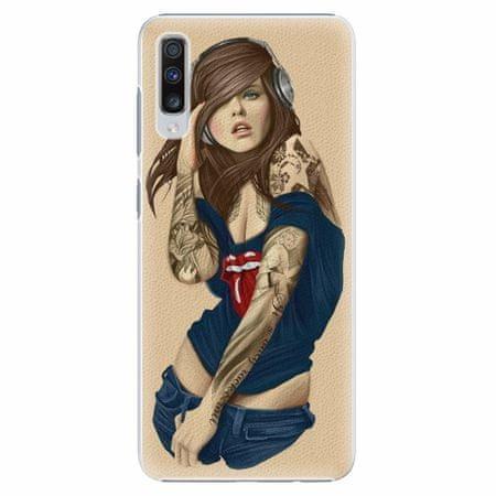 iSaprio Plastový kryt - Girl 03 - Samsung Galaxy A70
