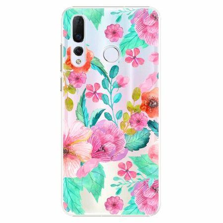 iSaprio Plastový kryt - Flower Pattern 01 - Huawei Nova 4