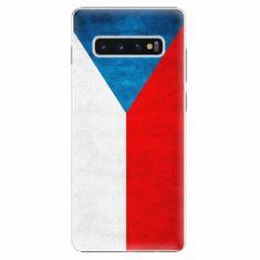 iSaprio Plastový kryt - Czech Flag - Samsung Galaxy S10+