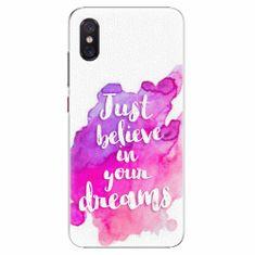 iSaprio Plastový kryt - Believe - Xiaomi Mi 8 Pro