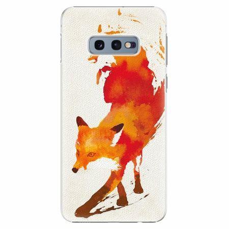 iSaprio Plastový kryt - Fast Fox - Samsung Galaxy S10e