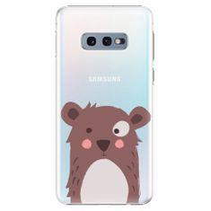 iSaprio Plastový kryt - Brown Bear - Samsung Galaxy S10e