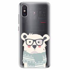 iSaprio Plastový kryt - Bear with Scarf - Xiaomi Mi 8 Pro