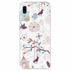 iSaprio Plastový kryt - Birds - Samsung Galaxy A30