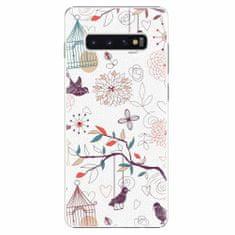 iSaprio Plastový kryt - Birds - Samsung Galaxy S10+