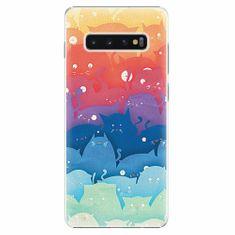 iSaprio Plastový kryt - Cats World - Samsung Galaxy S10+