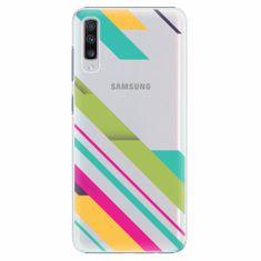 iSaprio Plastový kryt - Color Stripes 03 - Samsung Galaxy A70