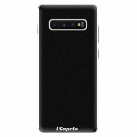iSaprio Plastový kryt - 4Pure - černý - Samsung Galaxy S10+