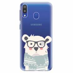 iSaprio Plastový kryt - Bear with Scarf - Samsung Galaxy M20