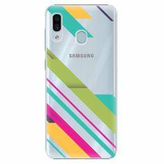 iSaprio Plastový kryt - Color Stripes 03 - Samsung Galaxy A30