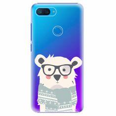 iSaprio Plastový kryt - Bear with Scarf - Xiaomi Mi 8 Lite