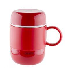 Pioneer termo šalica DrinkPod s ručkom, 280 ml, crvena