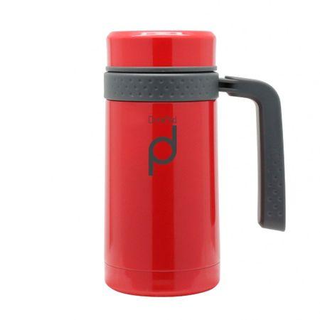 Pioneer DrinkPod termo skodelica z ročajem, 450 ml, črna