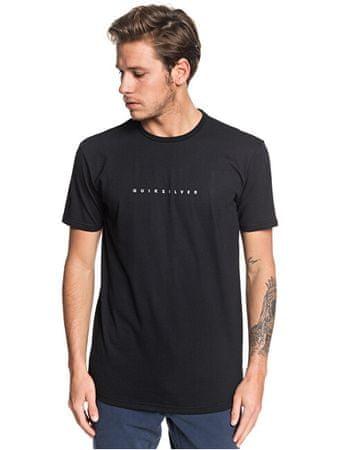 Quiksilver Męska koszulka Night Tract Ss Black EQYZT05454-KVJ0 (rozmiar XL)