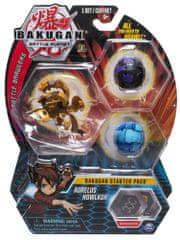 Spin Master Bakugan zestaw startowy 3 szt Aurelus Howlkor