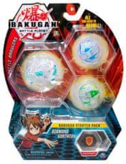 Bakugan Štartovacia sada 3 ks Diamond Gorthion