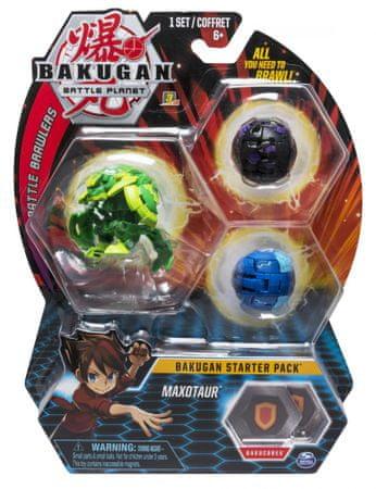 Spin Master Bakugan Kezdő készlet 3 db Maxotaur