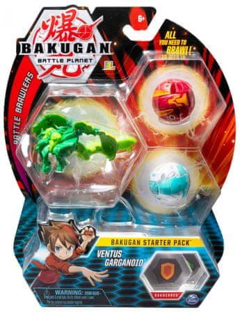 Bakugan Kezdő készlet 3 db Ventus Garganoid