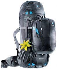 Deuter Quantum 60 + 10 SL ruksak, crno-tirkizni