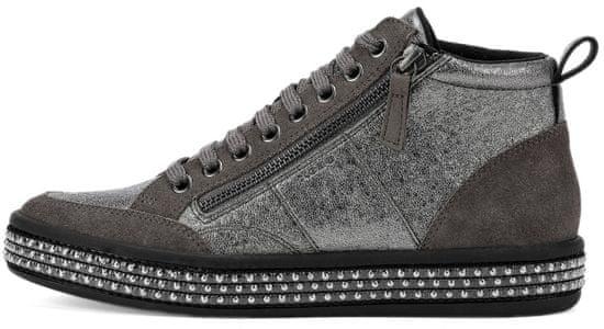 Geox dámská kotníčková obuv Leelu D94FFG 06P22 36.0 sivá