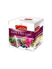 Celmar Rosehip & Black Currant, ovocný čaj, 20 ks pyramidových sáčkov