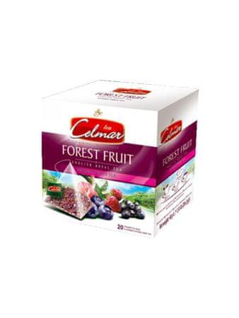 Celmar Forest Fruit čaj, 20 pyramidových sáčků