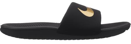 Nike chlapčenské papuče Kawa 35 čierna