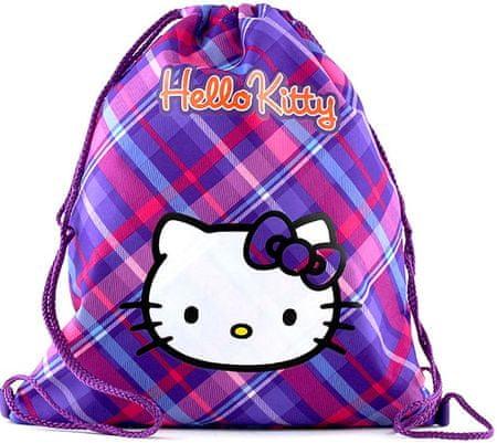 Target Športový vak Hello Kitty violet