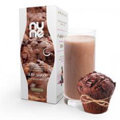 NuMe Dietní nápoj s kolagenem čokoládový muffin 6 porcí