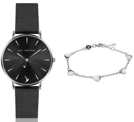 Emily Westwood EWS034 komplet ženskog ručnog sata i narukvice