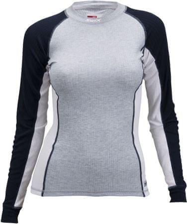 Swix ženska športna majica z dolgimi rokavi RaceX (40816), S, siva