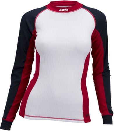 Swix ženska sportska majica s dugim rukavima RaceX (40816), XS, bijela
