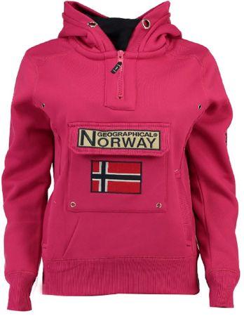 Geographical Norway Gymclass női pulóver L rózsaszín