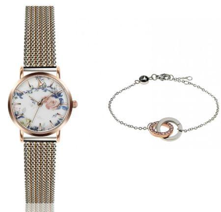 Emily Westwood EWS037 komplet ženskog ručnog sata i narukvice