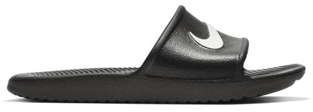 Nike Kawa Shower fantovski natikači, 40, črni