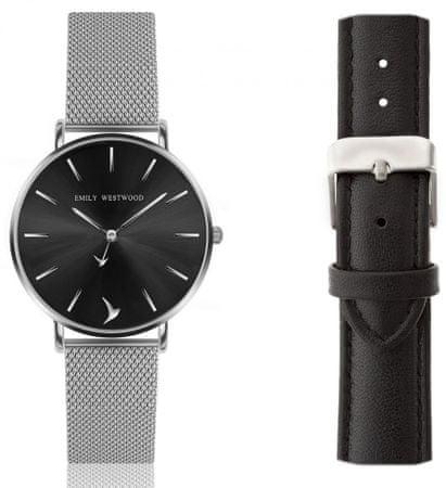 Emily Westwood set dámskych hodiniek s dvoma remienkami EWS038