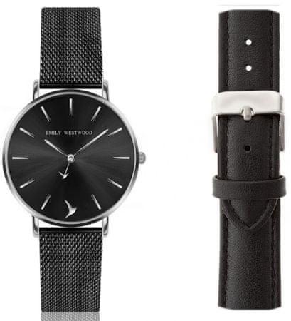 Emily Westwood zestaw zegarek damski z dwoma paskami EWS039