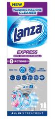 Lanza tekočina za čiščenje pralnega stroja Express, 250 ml