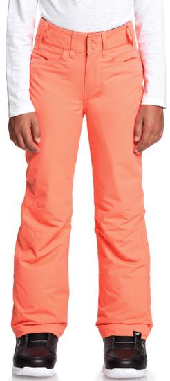 ROXY dievčenské nohavice Backyard 152 oranžová