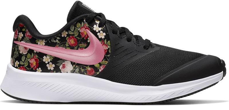 Nike, Star Runner sneaker, Fekete, 35.5 EU