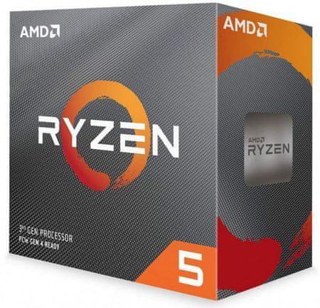 AMD Ryzen 5 3600, Wraith Stealth hladilnik, 65 W procesor