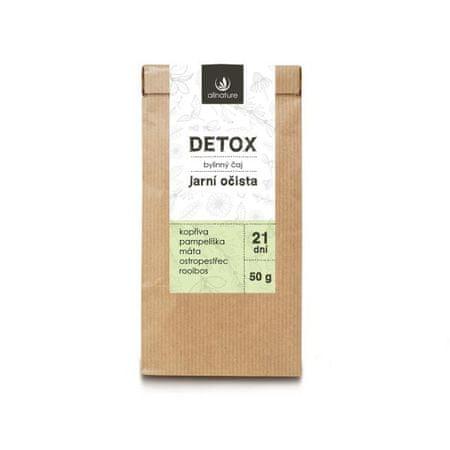 Allnature Detox gyógynövényes tea