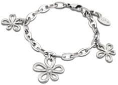 Lotus Style Kvetinkový oceľový náramok LS1535-2 / 1