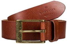 Quiksilver MęskaSkórzana Smukły pasek Premium Leather Pas Choco late Brown EQYAA03833-CSD0